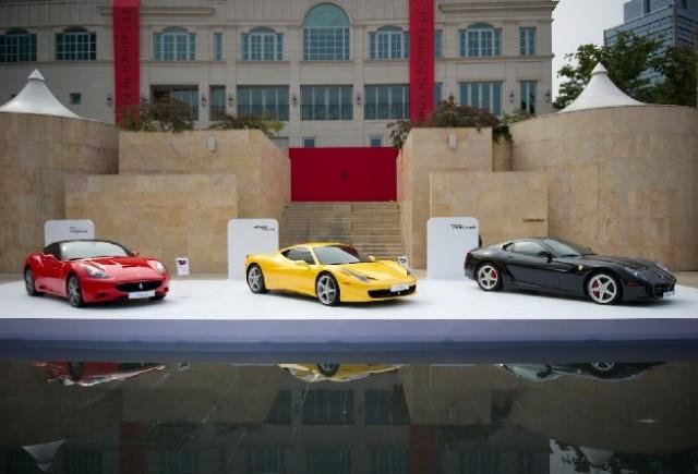 Ferrari FF GT in Coreea de Sud