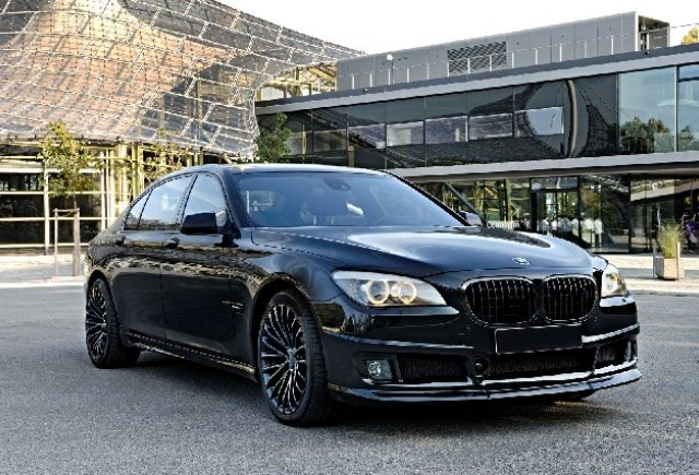 BMW 750Li tunat de Tuningwerk Blacks