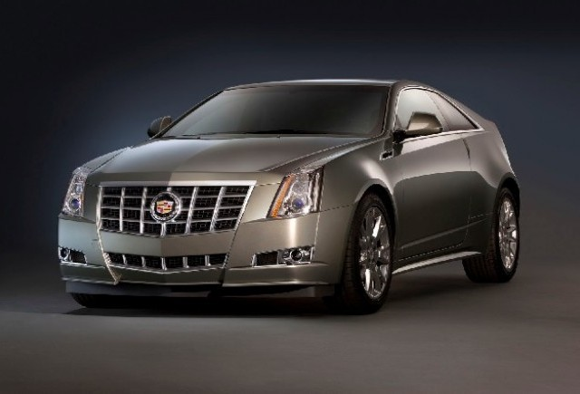 Cadillac CTS Coupe best-seller in SUA