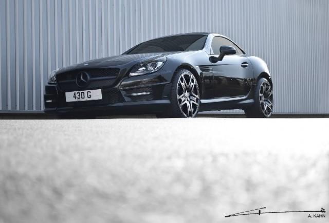 Mercedes SLK 200 AMG tunat de Brabus si Kahn
