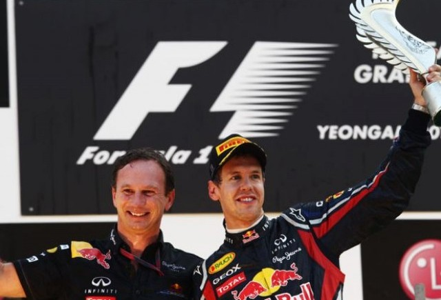 Vettel castiga din nou, iar Red Bull este campioana la constructori