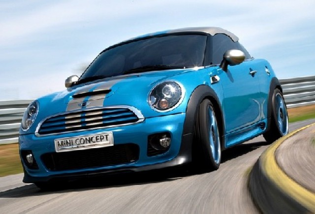 MINI Coupe s-a lansat on line