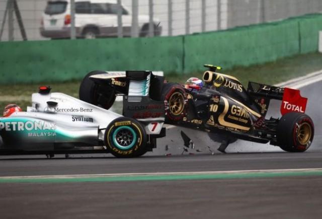Petrov, penalizat pentru cursa din India
