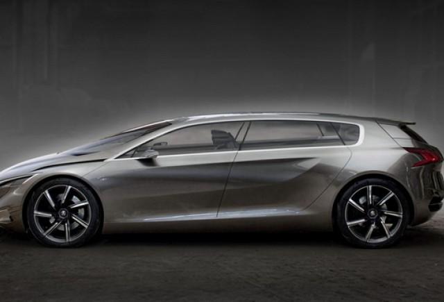 Noua nava-amiral Peugeot va fi HX1?