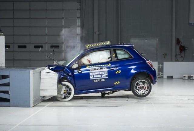 Fiat 500 primeste calificativul maxim de la IIHS
