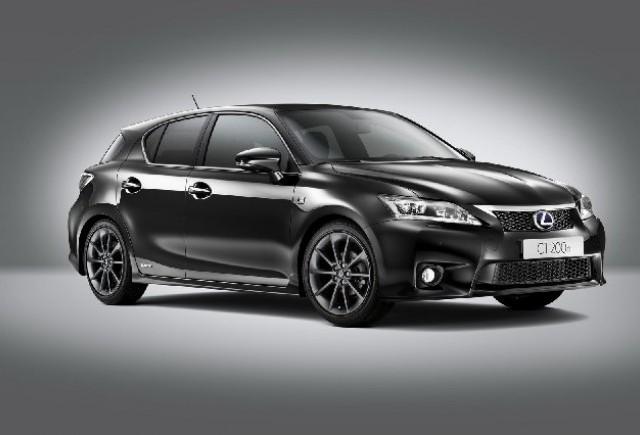 Lexus introduce CT 200h F-Sport in Marea Britanie