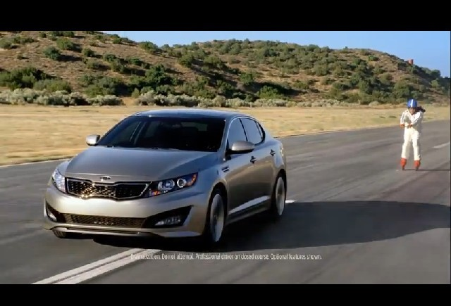 VIDEO: Reclama Kia Optima