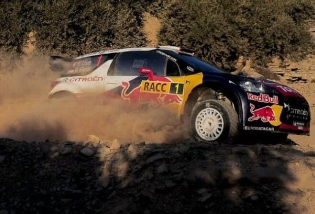 Loeb continua sa conduca Raliul Spaniei