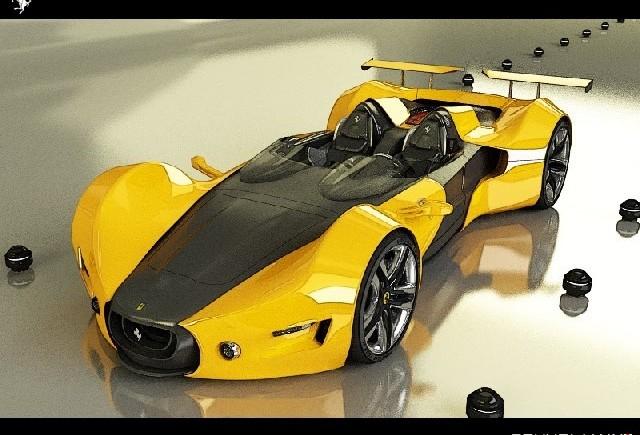 Ferrari Celeritas Barchetta Concept