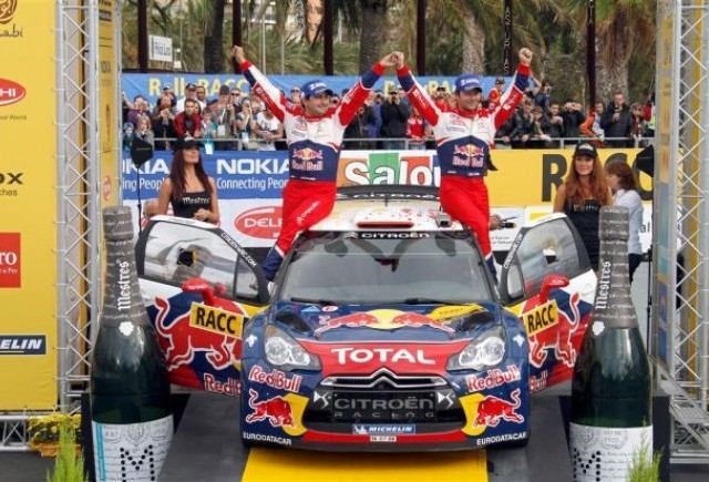 Loeb castiga Raliul Spaniei si este aproape de titlul mondial