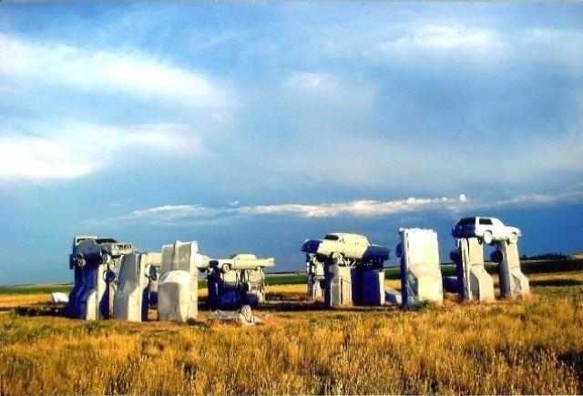 Carhenge Nebraska de vanzare pentru 300.000 dolari