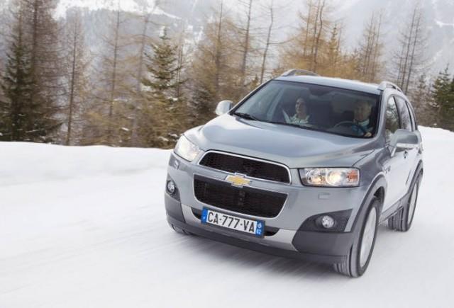Chevrolet Captiva si Aveo au primit 5 stele NCAP