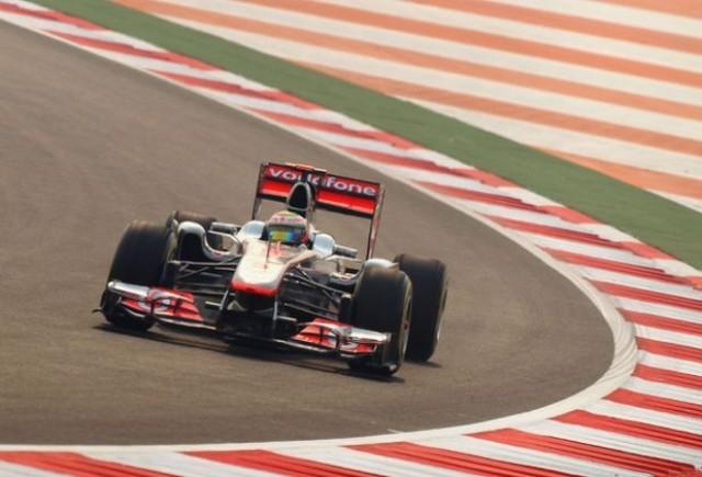 Hamilton, cel mai rapid in primele antrenamente din India