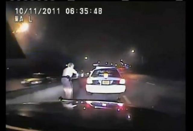 VIDEO: Urmarire intre politisti la 200 km/h