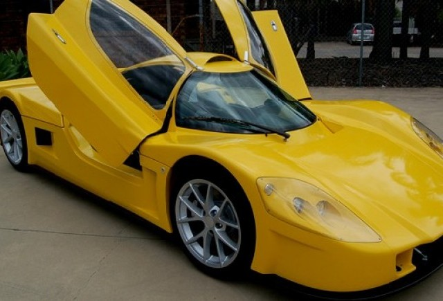 Primul supercar electric australian: Varley evR450