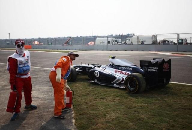 Maldonado va fi penalizat pe grila de la Abu Dhabi