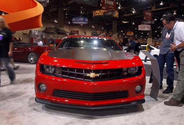 Chevrolet Camaro - Cea mai atragatoare masina la SEMA 2011