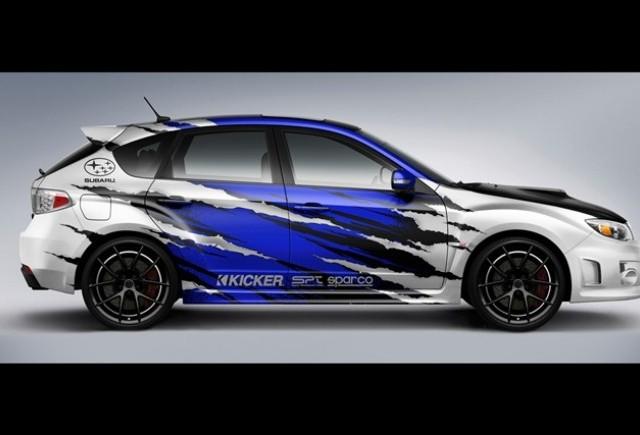 Standul Subaru de la SEMA 2011 nu e prea impresionat