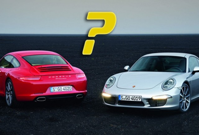 Porsche va prezenta noul 911 Carrera si o premiera mondiala la LA Show