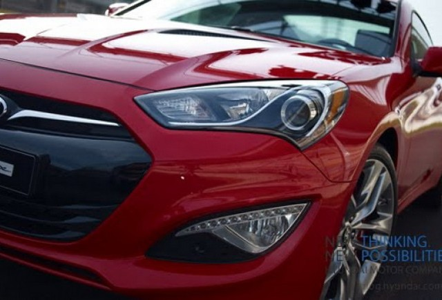 Hyundai ne arata noul Genesis Coupe