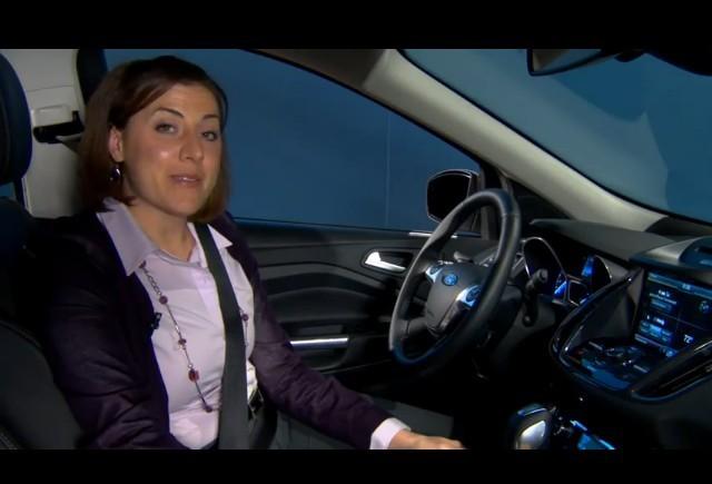 VIDEO: Interiorul noului Ford Escape