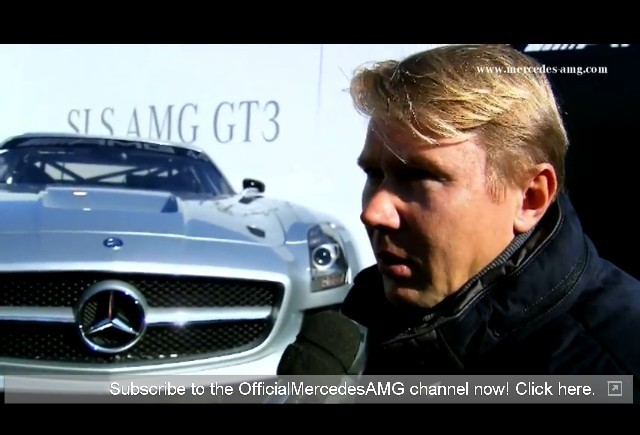 VIDEO: Mika Hakkinen e gata de cursa
