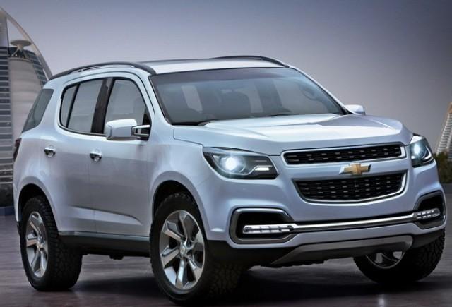 Noul Chevrolet Trailblazer dezvaluit inaintea lansarii oficiale