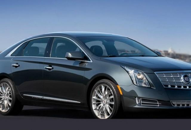 Cadillac XTS, prima fotografie oficiala