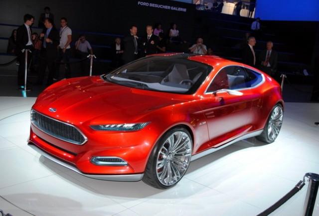 Ford Evos Concept debuteaza si in SUA