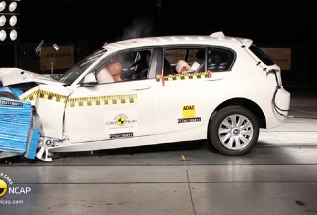 BMW Seria 1: Cinci stele la testul de impact Euro NCAP