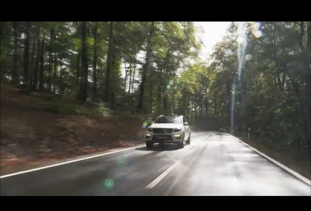 VIDEO: Mercedes-Benz ML 63 AMG