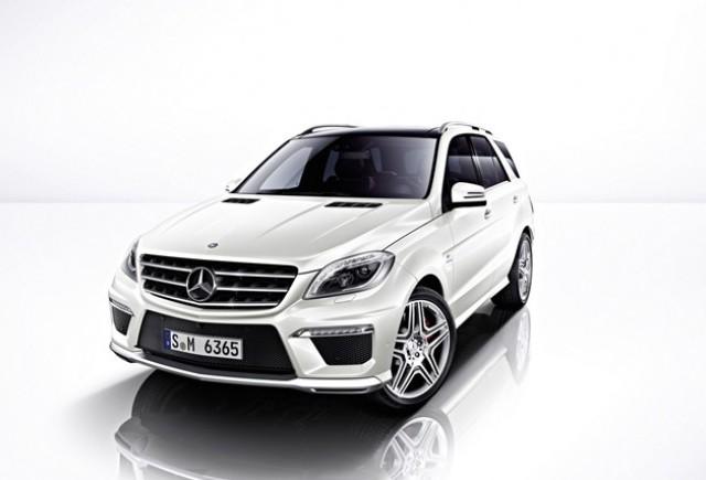 Mercedes-Benz prezinta noul ML 63 AMG