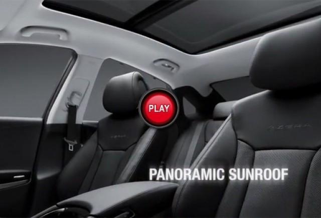 Hyundai Azera 2012 apare la orizont