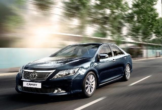 Toyota incepe productia noului Camry in Rusia