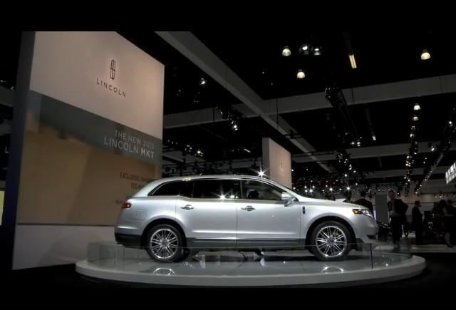 Lincoln MKS si MKT la LA Auto Show