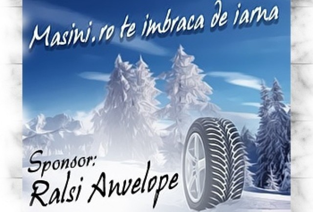 CONCURS: Masini.ro iti echipeaza masina pentru iarna
