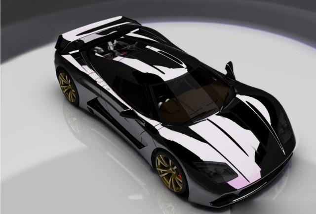 Genty  va construi un motor V8 pentru Akylone