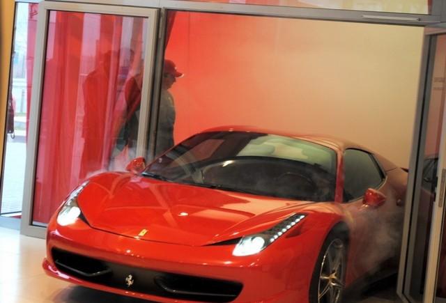 Ferrari 458 Spider lansat oficial in Romania