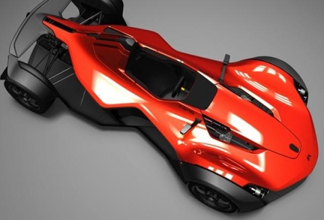 BAC Mono Track Racer