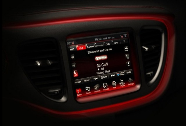 Dodge Dart Compact Sedan - imagini din interior