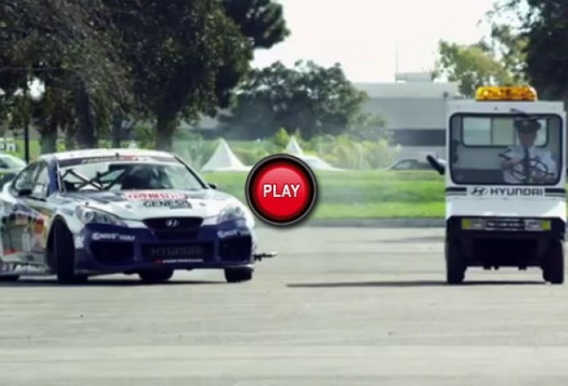 VIDEO: Drift show cu Hyundai Genesis Coupe