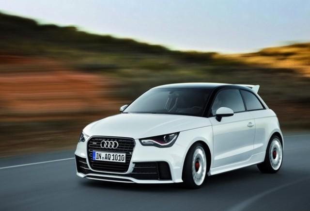 Audi A1Quattro cu 256 CP