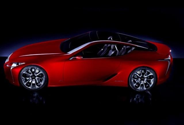 Un nou teaser Lexus LF-LC 2+2