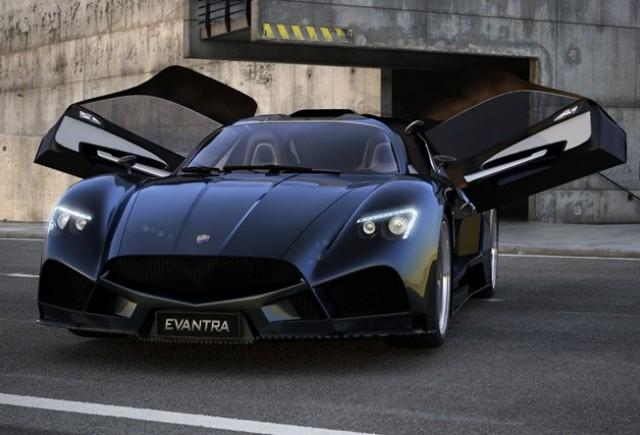 Prima masina de productie F&M Auto: Evantra