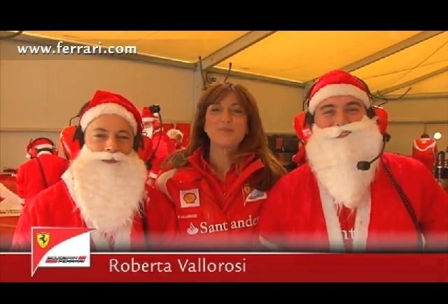 """Scuderia Ferrari ne transmite """"Sarbatori Fericite"""""""