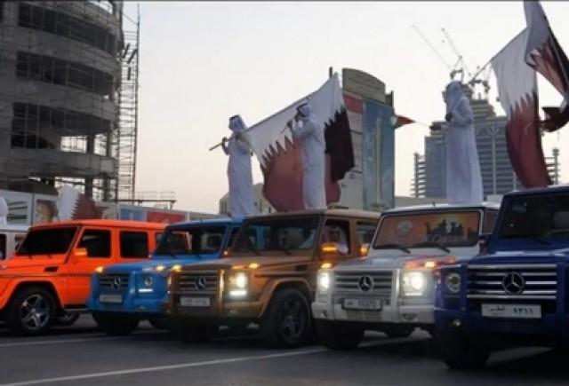 VIDEO: Parada Mercedes G55 AMG