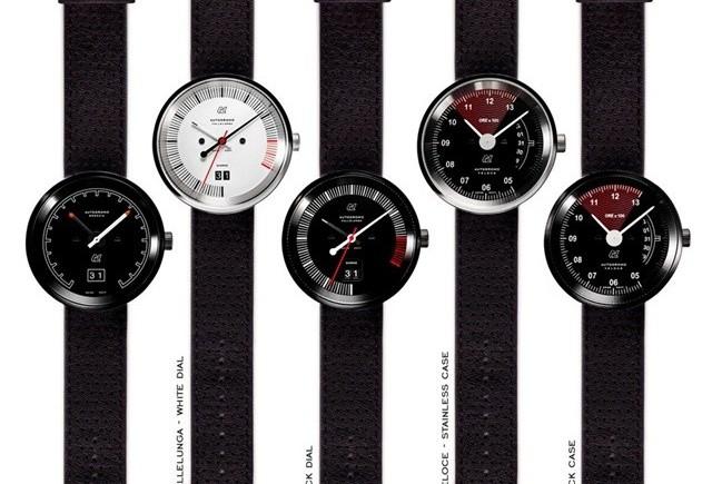 O noua colectie de ceasuri inspirate de cadranele auto