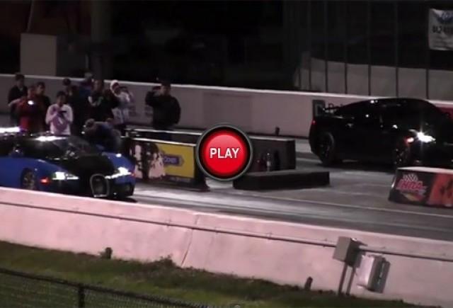 VIDEO: Liniuta intre Bugatti Veyron si Nissan GT-R
