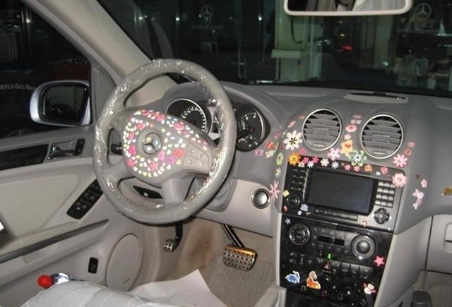 """""""Tuning"""" Mercedes ML63 AMG"""