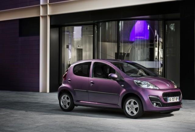 Noul Peugeot 107: atat de frumos, atat de urban!